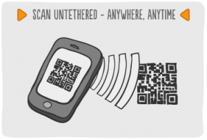 Mobile Barcoding Application Features - Scan from anywhere