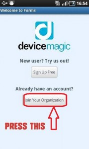 Join Organisation