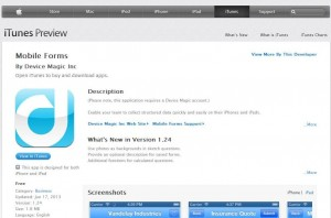 iTunes Store - Froms