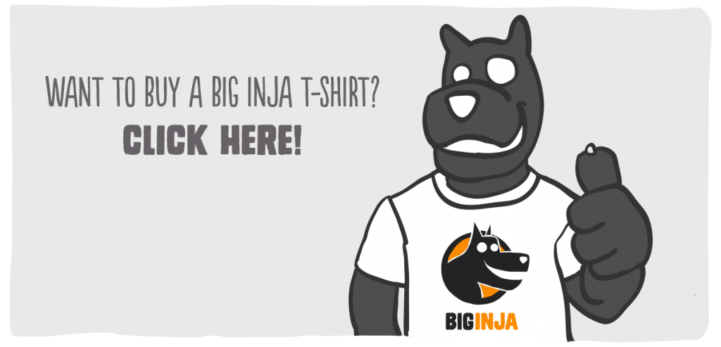 Buy a Big Inja T - click here
