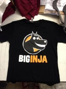 Big Inja T - mens sample