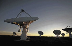 MeerKAT's Karoo Array Telescope antennas