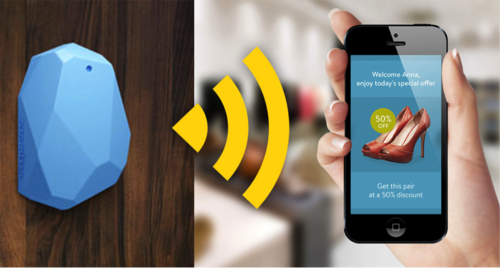 Image result for beacons in a retail store