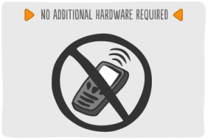 Mobile Barcoding Application Features - No additional hardware required