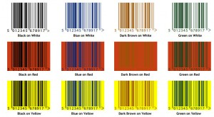 Acceptable Barcode Printing Colours